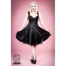 Satin Dresses for Women's 1950s