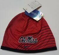 NEW Ole Miss Rebels Nike sideline dri-fit beanie hat/cap one size MSRP $35