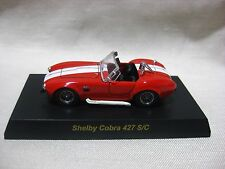 1:64 Kyosho Shelby Cobra 427 S/C Red Diecast Model Car