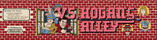 """Vs Hogan's Alley Arcade Marquee 22.3""""x5.8"""""""