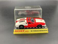 Dinky 187 De Tomaso Mangusta - N Mint In Good Perspex Lidded Box
