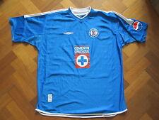 Deportivo Cruz Azul Home Shirt 2002 - Umbro  - Adult XL Mexico