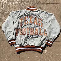 Vintage 90s University Of Texas Football Pullover Windbreaker Sweatshirt