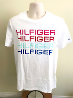 NWT Tommy Hilfiger Mens Graph Tee Small to X-Large Free Shippiing