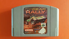 TOP GEAR RALLY / jeu Nintendo 64 / PAL EUR FRA