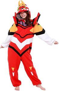 SAZAC Evangelion EVA-02 Costume pajamas Kigurumi Unisex Asuka