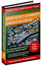 JEALOUSLY GUARDED CREDIT SECRETS  PDF EBOOK FREE SHIPPING RESALE RIGHTS