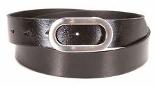 Tamaris Leather Belt W95 Gürtel Accessoire Black Schwarz Neu
