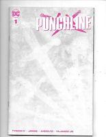 PUNCHLINE #1  Wraparound BLANK Variant  2021   DC COMICS