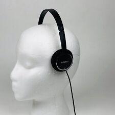 Sony MDR-222 Children's Headphones Over the Head On Ear Youth Kids black School