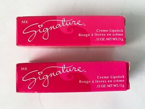 Mary Kay Signature Creme Lipstick (Apple Berry) .13 Oz. #500500 NEW  Lot Of 2