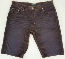NEW Paul Smith Jeans Men/'s Modern Herringbone Shorts in Light Grey Sz 36 $195