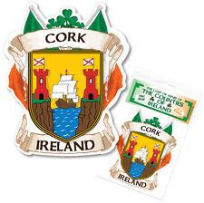 Cork Ireland County Decal Sticker Irish GAA Auto