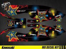 Kit Déco pour / Decal Kit for Jet Ski Kawasaki 800 Sxr - RockStar H&H