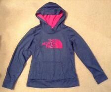EUC! Women's The North Face Blue/Pink Sweater/Hoodie Sz S/P Great Colors!