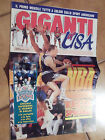 GIGANTI of USA - allegato di GIGANTI del BASKET n. 8/1993 - NBA - NCAA - NFL