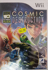 Ben 10: Ultimate Alien - Cosmic Destruction (Nintendo Wii, 2010) -PAL-
