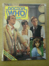 DOCTOR WHO #74 1983 MAR BRITISH WEEKLY MONTHLY MAGAZINE DR WHO DALEK CYBERMEN