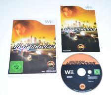 Nintendo Wii Spiel NEED FOR SPEED UNDERCOVER
