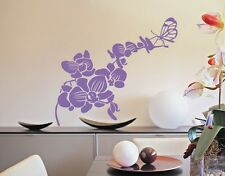 Butterfly Orchid - Wall Decal Stickers
