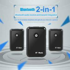 2in1 TV AUX Bluetooth Wireless Audio Transmitter Receiver Music 3.5mm PC Adapter