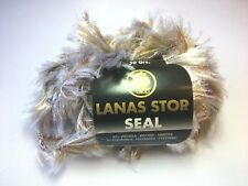 1 Knäuel Lanas Stop SEAL Farbe: 103 Luxuswolle 50 Gr. Garn Wolle (99,80€/kg)