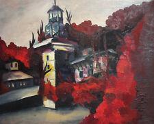 European art fauvist oil painting landscape cityscape