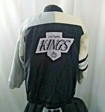 Vintage 90s la kings starter zip up jacket XL nhl hockey los angeles gretzky vtg