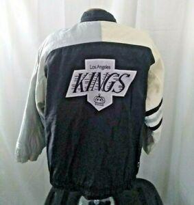 Vintage 90s la kings starter zip up jacket XL nhl hockey los angeles gretzky vtg