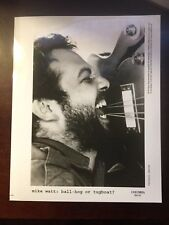 Mike Watt:  Ball-hog or tugboat? Publicity Press Photo - 8 x 10