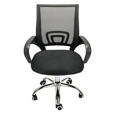 Home Office Ergonomic Mesh Computer Swivel Chair Lumbar Support Rolling Stool