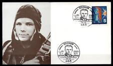 10J. bemannten Raumflug, Jurij Gagarin. Sonderkarte. SoSt. Bochum. BRD 1971