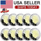 10PCS Donald Trump 2020 Coin US President commemorative coin Coin Silver