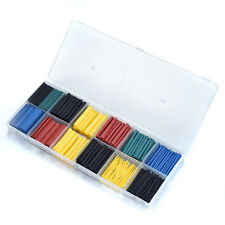 280pcs PE Heat Shrink Tube Wire Wrap Electrical Cable Insulation Sleeving Kits