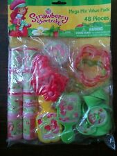 Strawberry Shortcake Mega Mix Value Pack Party Favors - 48 pieces - Mint In Pack