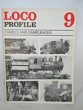 CAMELS & CAMELBACKS. LOCO PROFILE No. 9. USA RAILROADS