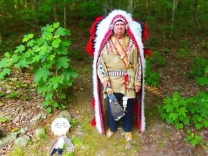 NATIVE AMERICAN TRIBAL CHIEF REENACTMENT COSTUME -PRICE REDUCED-AGAIN