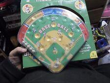 g2001 Schylling Baseball Pinball Classic Handheld Plastic Tin Game