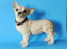 HUGE AWESOME  CHIHUAHUA SCULPTURE STATUE FIGURE DOG 1 OF A KIND --LOOK--