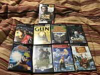 Playstation 2 Games Lot Of 9 Black Label CIB W/Manuals PS2