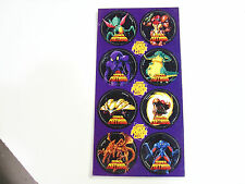 NINTENDO SUPER POWER CLUB POGS SUPER METROID CARDED AND STILL INTACT AWESOME