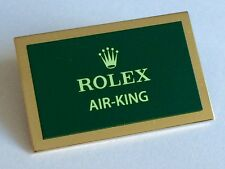 ROLEX Air-King METAL PLACCA AIRKING 5500 5700 14000 114234 114210 114200 14010