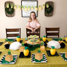 24pcs Pineapple Favor Treat Candy Boxes Birthday Luau Hawaiian Party Supplies
