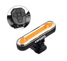 rear steering smart USB rechargeable bike LED light wireless remote controller