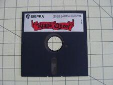 1984 KING'S QUEST SIERRA FLOPPY DISC