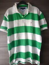 Tommy Hilfiger-polo para hombre Camisa-usado-tamaño: XL