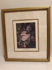 Antique FLORAL GLORY Signed Artist Unknown