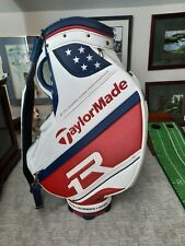Justin Rose Collectible Golf Bag, and Signed Cap, new never used very rare Bag