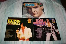 ELVIS PRESLEY-THE ELVIS PRESLEY COLLECTION voll. 1-2-3-LOT OF 6 NEAR MINT LPS