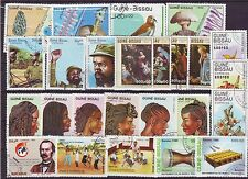 Guine Bissau-100 Diff. Used Good Condition Stamps #F50